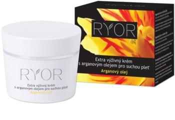 RYOR Argan Oil crème extra-nourrissante pour peaux sèches