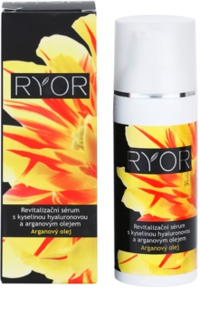 RYOR Argan Oil revitalizacijski serum s hialuronsko kislino
