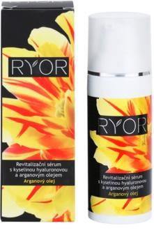 RYOR Argan Oil serum rewitalizujące z kwasem hialuronowym