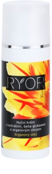 RYOR Argan Oil nočný krém s hodvábom a beta-glukánom