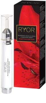 RYOR Argan Care with Gold sérum revitalizante para a pele com ouro e óleo de argan