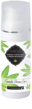 RYOR Cannabis Derma Care konopný výživný krém s kmenovými buňkami
