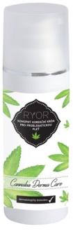 RYOR Cannabis Derma Care crema correctora de cáñamo para pieles problemáticas
