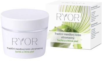 RYOR Dry And Sensitive tradičný mandľový krém ultramastný
