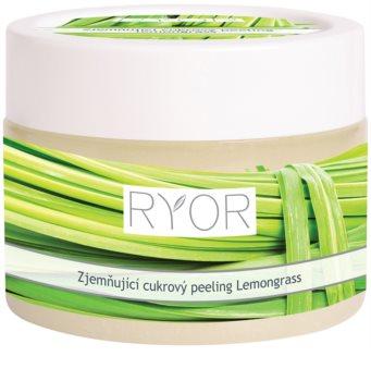 RYOR Lemongrass peeling suave de açúcar para corpo