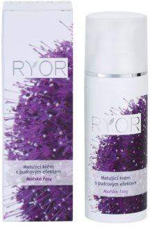 RYOR Marine Algae Care Mattifying Cream with Powder - Effect