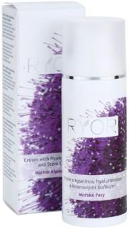RYOR Marine Algae Care creme com ácido hialurónico e células estaminais
