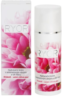 RYOR Ryamar creme hidratante com óleo de amaranto e UV filtros