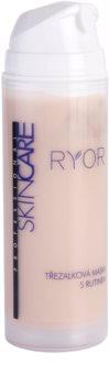RYOR Skin Care třezalková maska s rutinem na rozšířené a popraskané žilky