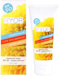 RYOR Sun Care Suntan Cream SPF 50