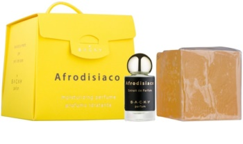 S.A.C.K.Y. Afrodisiaco perfume hidratante unissexo + extrato de perfume 5 ml 150 g