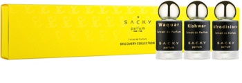 S.A.C.K.Y. Discovery Collection set cadou IV. Waquar+Afrodisiaco+Kishwar