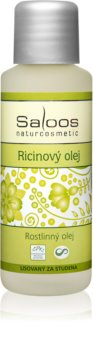 Saloos Oils Cold Pressed Oils óleo de rícina para rosto e corpo