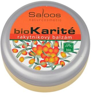 Saloos Bio Karité бальзам обліпиховий