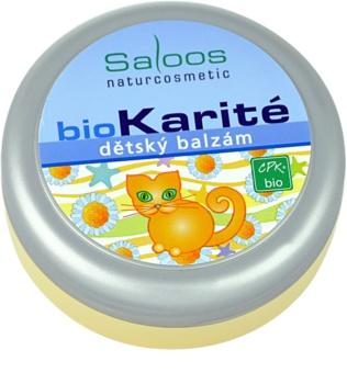 Saloos Bio Karité bálsamo para bebés/crianças