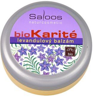 Saloos Bio Karité бальзам лавандовий