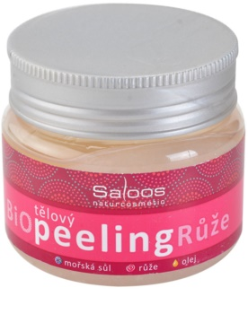 Saloos Bio Peeling exfoliant corporal cu trandafiri