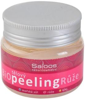 Saloos Bio Peeling telový peeling ruža