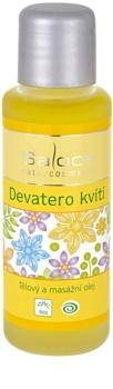 Saloos Bio Body and Massage Oils telový a masážny olej devätoro bylín