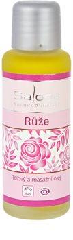 Saloos Bio Body and Massage Oils masažno olje za telo Vrtnica