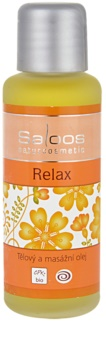 Saloos Bio Body and Massage Oils Relax Body Care and Massage Oil