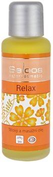 Saloos Bio Body and Massage Oils telový a masážny olej Relax