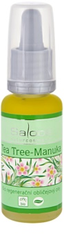 Saloos Bio Regenerative biologische regeneratieve gezichtsolie Tea Tree Manuka