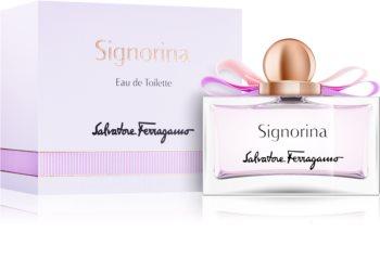 Salvatore Ferragamo Signorina Eau de Toilette für Damen 100 ml