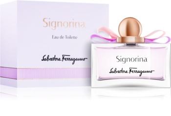 Salvatore Ferragamo Signorina Eau de Toilette voor Vrouwen  100 ml