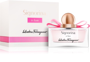 Salvatore Ferragamo Signorina in Fiore Eau de Toilette voor Vrouwen  50 ml