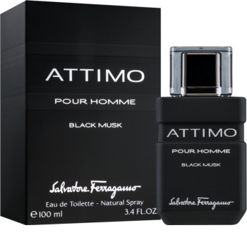 Salvatore Ferragamo Attimo Black Musk woda toaletowa dla mężczyzn 100 ml