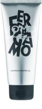 Salvatore Ferragamo Uomo sprchový gél pre mužov 200 ml