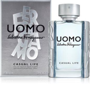 Salvatore Ferragamo Uomo Casual Life Eau de Toilette für Herren 100 ml
