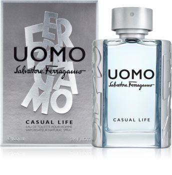Salvatore Ferragamo Uomo Casual Life Eau de Toilette para homens 100 ml