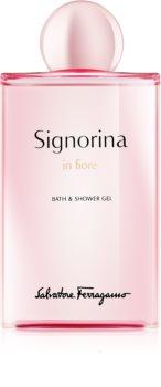 Salvatore Ferragamo Signorina in Fiore Douchegel voor Vrouwen  200 ml
