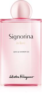 Salvatore Ferragamo Signorina in Fiore gel de dus pentru femei 200 ml