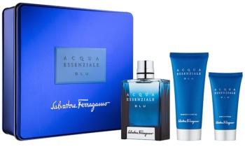 Salvatore Ferragamo Acqua Essenziale Blu set cadou V.