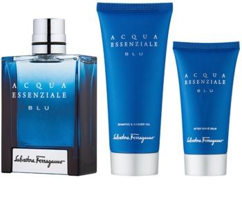 Salvatore Ferragamo Acqua Essenziale Blu zestaw upominkowy V.