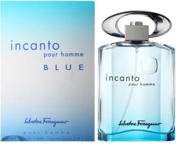 Salvatore Ferragamo Incanto Blue eau de toilette pentru barbati 100 ml