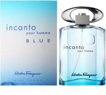 Salvatore Ferragamo Incanto Blue woda toaletowa dla mężczyzn 100 ml