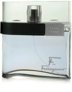 Salvatore Ferragamo F by Ferragamo Black eau de toilette voor Mannen