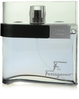 Salvatore Ferragamo F by Ferragamo Black eau de toillete για άντρες