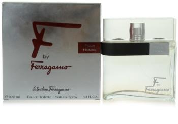 Salvatore Ferragamo F by Ferragamo eau de toilette per uomo 100 ml