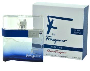 Salvatore Ferragamo F by Ferragamo Free Time Eau de Toilette für Herren 100 ml