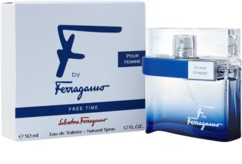 Salvatore Ferragamo F by Ferragamo Free Time Eau de Toilette for Men 50 ml