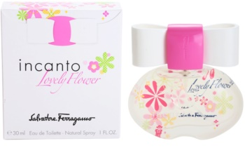 Salvatore Ferragamo Incanto Lovely Flower eau de toilette nőknek 30 ml