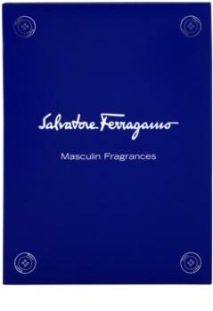 Salvatore Ferragamo Masculin Fragrances zestaw upominkowy Pour Homme 5 ml, Free Time 5 ml, Black 5 ml, Attimo 5 ml, Attimo L'eau 5 ml