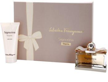 Salvatore Ferragamo Signorina Eleganza подаръчен комплект IX.