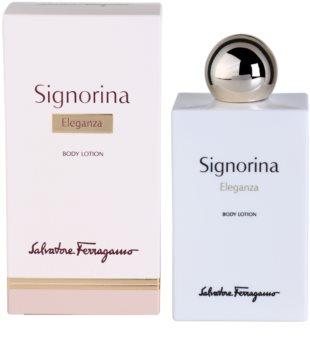 Salvatore Ferragamo Signorina Eleganza tělové mléko pro ženy 200 ml