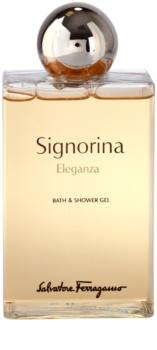 Salvatore Ferragamo Signorina Eleganza sprchový gel pro ženy 200 ml